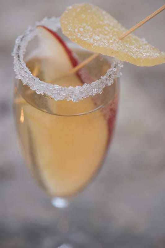 New Years Champagne Cocktail